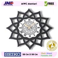 Jam dinding - MWC Mentari - JNE 1KG - Garansi Seiko 2 Tahun!