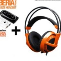 Steelseries Siberia Full-size Headset V2 Orange + Sound Card