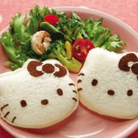 Mold Sandwich - Cetakan Roti Tawar HKitty, Car, Bear, Bunny, Heart