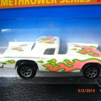 HOT WHEELS '57 T-BIRD FLAMETHROWER SERIES