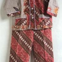 Baju Tidur / Piyama Anak Batik Size S