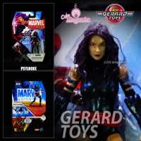 Psylocke - Marvel Universe - Hasbro - MOC