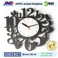 Jam dinding - MWCS Animal Kingdom - JNE 2KG - Garansi Seiko 2 Tahun!
