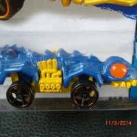 HOT WHEELS FANGSTER HW CITY