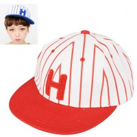 C07189 topi korea snapback baseball Red Embroidery H