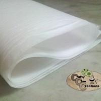Fusible Interlining (kain pelapis berperekat untuk applique)