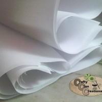 Interlining Cloth (kain keras berperekat untuk tas, dompet, kerah baju)
