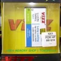 Battery Blackberry Q10 3600MAH VIZZ long lasting Baterai BB NX1