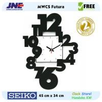 Jam dinding - MWCS Futura - JNE 3KG - Garansi Seiko 2 Tahun!
