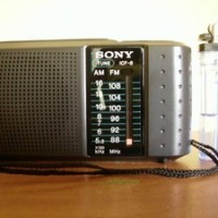 Radio Saku SONY ICF-8 AM FM