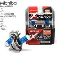 Halogen xenon Michiba H1-H3-HB3-HB4-H11-H27 - 55 Watt (White)