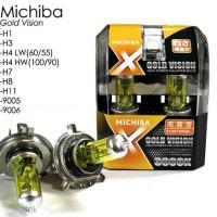 Halogen Gold Michiba H4 - 55/60 Watt (Yellow)