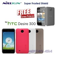 Hardcase HTC Desire 300 : NILLKIN Super Frosted Shield ( + FREE SP)