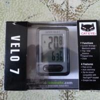 Bike Speedometer Cateye Velo 7