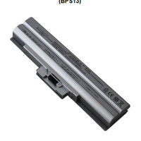 Baterai SONY VAIO VGN-AW, BZ, CS, CW, FW, NS, NW, SR series; VPC-B, M, S, Y series SILVER tanpa CD (BPS13)