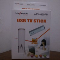 TV TUNNER ADVANCE USB TV STICK ATV-690 ( TANPA ANTHENA )