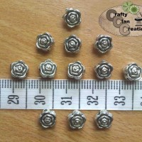 Small Rose Charm