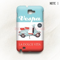 harga Vespa Samsung Galaxy Note 1 Casing Custom Hard Case Tokopedia.com