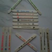 harga Mainan Stik Padle Pop (Stick Ice Cream) Untuk Kerajinan Tangan Tokopedia.com