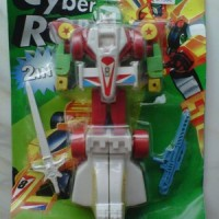 Mainan Robot Cyber 2 in 1