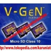 memori 16 Gg memory v gen class 10 MMC hp android tablet micro sd kartu