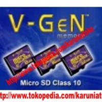 memori 8 Gb memory v gen class 10 MMC hp android tablet micro sd card kartu