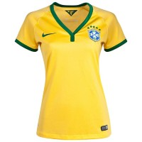 Jersey Brazil Home Ladies World Cup 2014