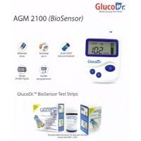 Alat Cek Gula Darah / GLUCOSE TEST GLUCO Dr BIO SENSOR / AGM 2100