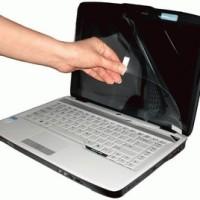 Jual Screen Guard Protector Anti Gores Universal Size 10inch / 14 inch screenguard untuk laptop notebook netbook tablet Murah