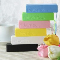 Candy power Bank 2600mah (Use Samsung batteries cell)