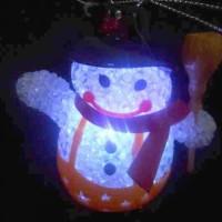 LAMPU SNOWMAN CHRISTMAST