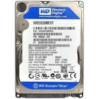 "Western Digital - Internal Hard Disk Drive 2.5"" - Mobile Scorpio Blue 500GB / 8MB / 5400RPM"