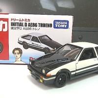 tomica dream toyota initial D trueno ae86