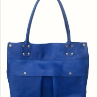 Umeko Shopping Bag ( Ready on Red Ferrari , Blue & Brown )