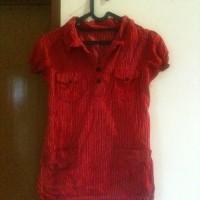 baju obral blouse merah - pakaian wanita - baju 2nd