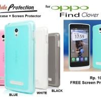 Softcase Oppo Find Clover R815t : Mp Tpu Softcase ( + Free Sp)