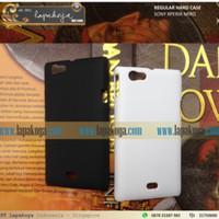 SONY XPERIA MIRO ST23i CASING HARD COVER TIPE REGULAR CASE BUKAN MERK NILLKIN / CAPDASE (100% FOTO ASLI)