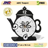 Jam Meja - MDC TeaPot - JNE 1KG - Garansi Seiko 2 Tahun!