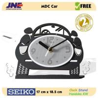 Jam Meja - MDC Car - JNE 1KG - Garansi Seiko 2 Tahun!