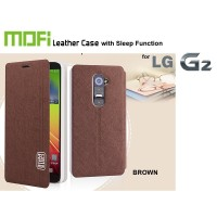 Flipcover LG G2 : MOFI SMART Flipcover SLEEP FUNCTION ( + FREE SP + Mini Stylus)