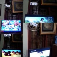 Antena TV Wajan Bolic Kualitas Super/JERNIH (Bisa Indoor) BISA jd Penguat sinyal Internet Modem