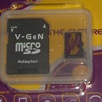memori 32 Gg memory v gen MMC hp android tablet micro sd kartu + adapter