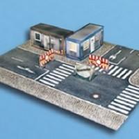 Diorama Diecast Toko + Jalan Raya Skala 1:72/ 1:64
