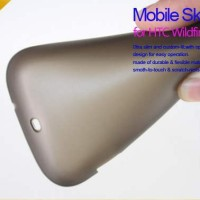 NILLKIN SOFTCASE SILICONE MATTE CASE SOFTJACKET HTC WILDFIRE A333