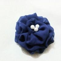 Blue Flower Brooch - Bros Bunga Biru