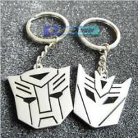Gantungan Kunci Sepasang Transformer Autobot Decepticon Stainless Steel Unik dan Romantis Couple Keychain Key Chain