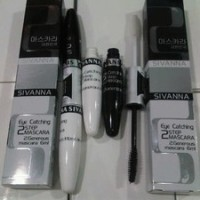 MASCARA SIVANNA KOREA 2 IN 1 (QUALITAS SAMA DGN L OREAL PARIS)