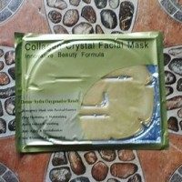 gold facial mask - masker wajah collagen - gold facial mask collagen