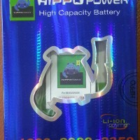 Baterai Hippo Double Power Blackberry Curve 8520 Gemini / 9300 Kepler C-S2 1600 mAh | Battery Batre Batrei BB CS2 CS-2