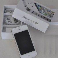 IPHONE 4S NEW ORIGINAL 32GB GARANSI RESMI 1THN BLACK & WHITE